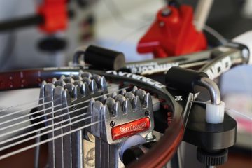 Tennis Racket Stringing